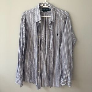new // {men's} Ralph Lauren | Striped Button Down